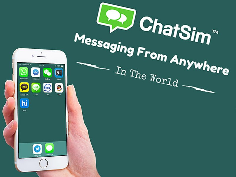 ChatSim travel and unlimited chatting with only 10€ year