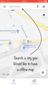 How to Use Google Maps without Signal or Internet Connection